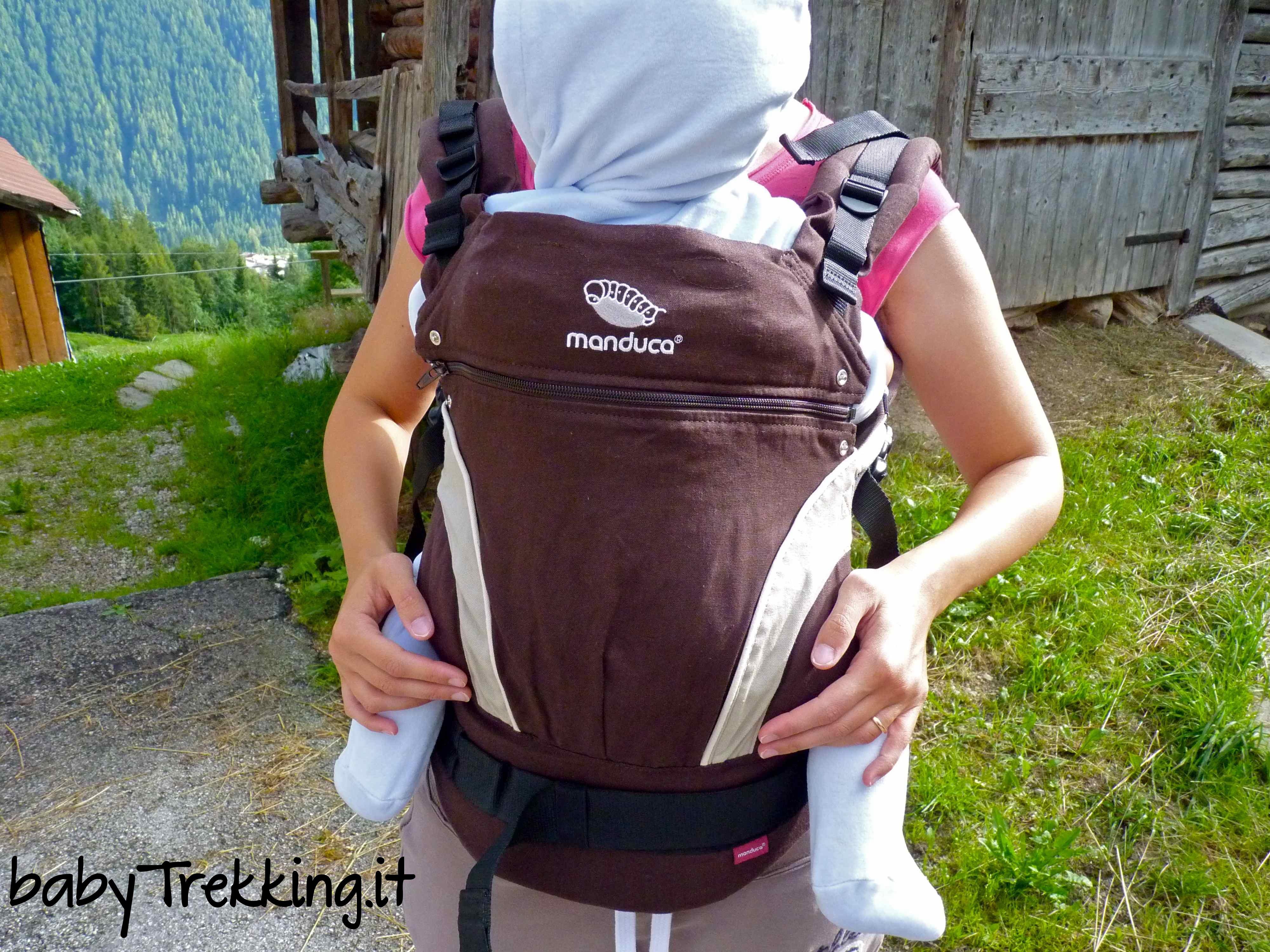 Manduca, il marsupio ergonomico ideale per il trekking