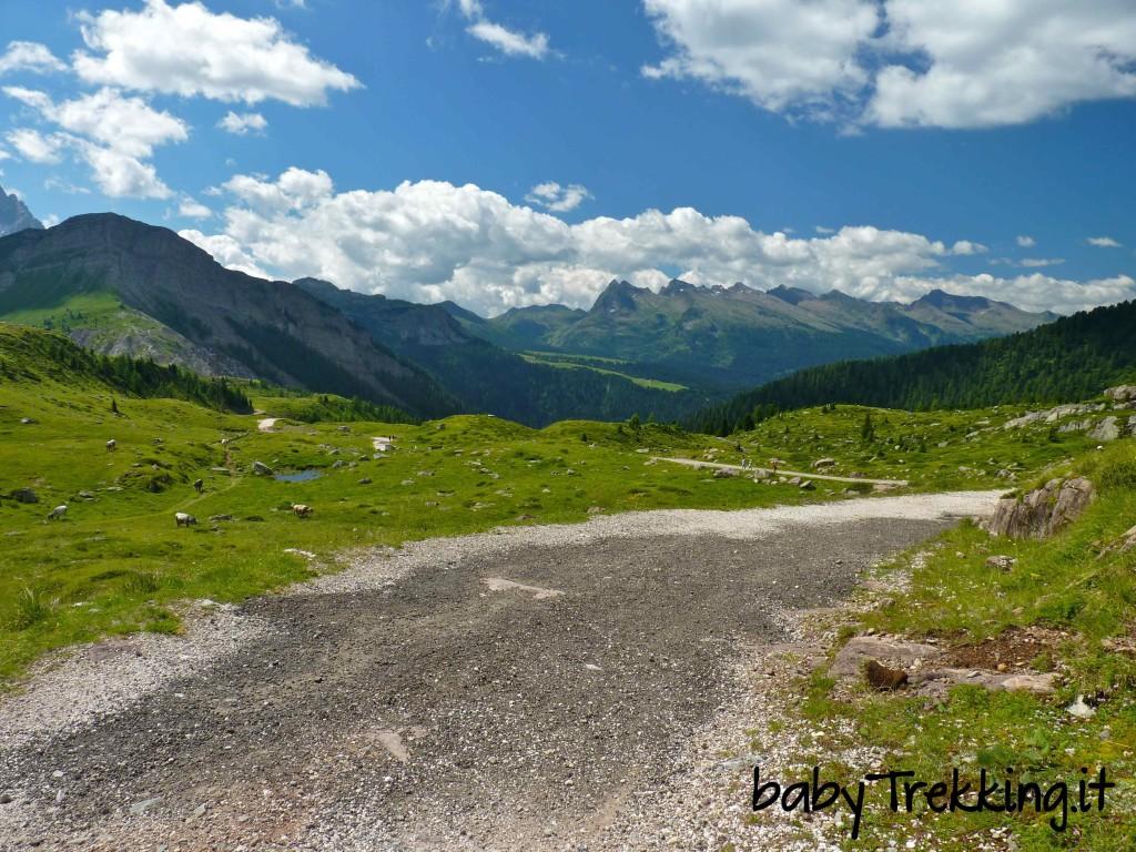 Rifugio Laresei, splendidi panorami con passeggino