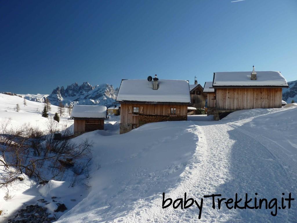 Passo San Pellegrino, vacanze sulle neve per grandi e piccini