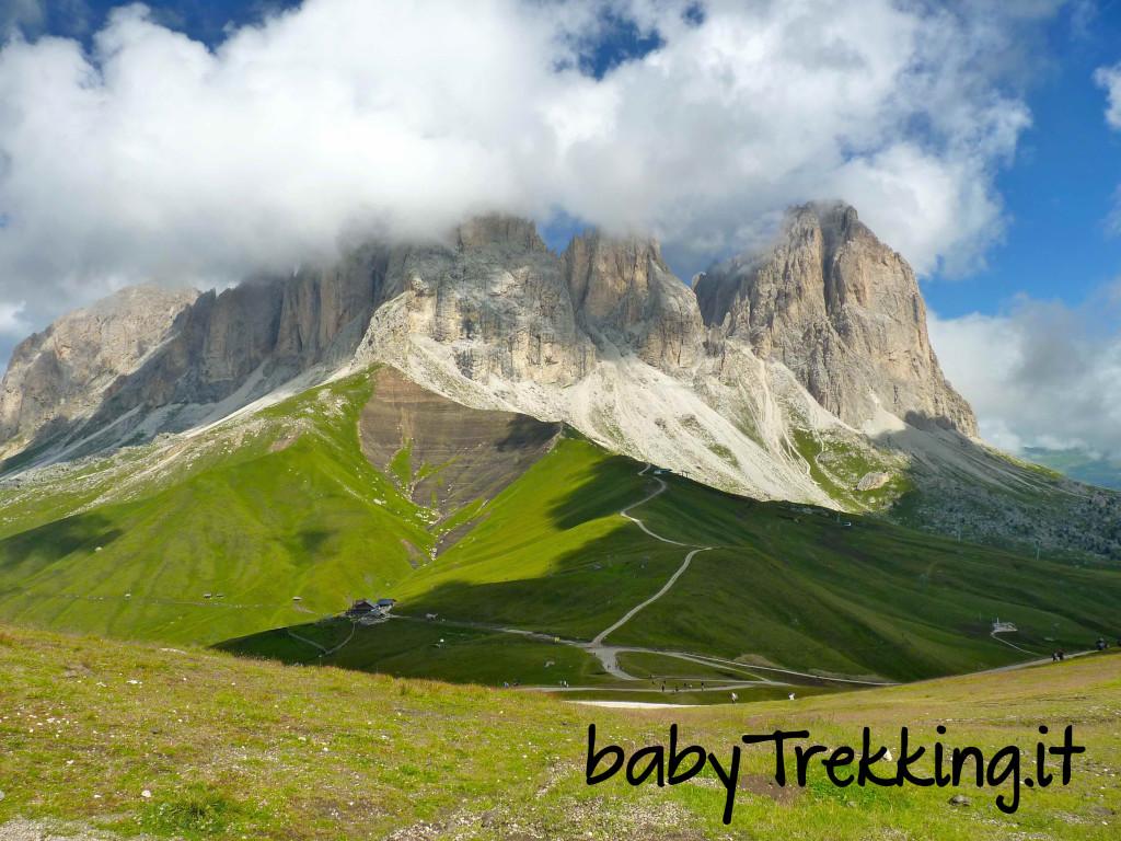 Sentiero Federico Augusto, trekking coi bambini al cospetto del Sassopiatto