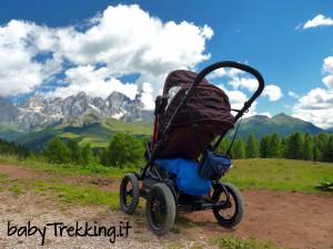 Passeggino Brevi Rider, nato per il trekking in montagna