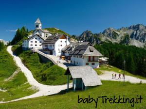 Il Monte Lussari, una meraviglia a portata di passeggino