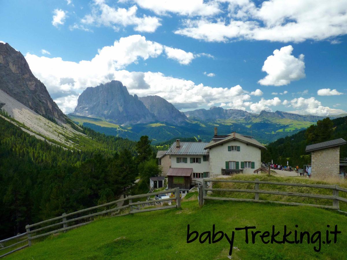 Al Rifugio Firenze col passeggino: bambini nel Parco Naturale Puez-Odle