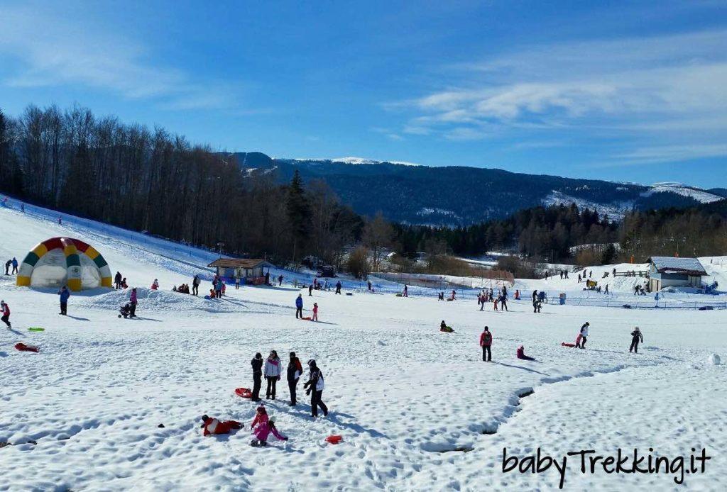 Neveland Lavarone: divertimento per bambini sull'Alpe Cimbra
