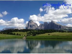 Malga Schgaguler Schwaige, col passeggino sull'Alpe di Siusi