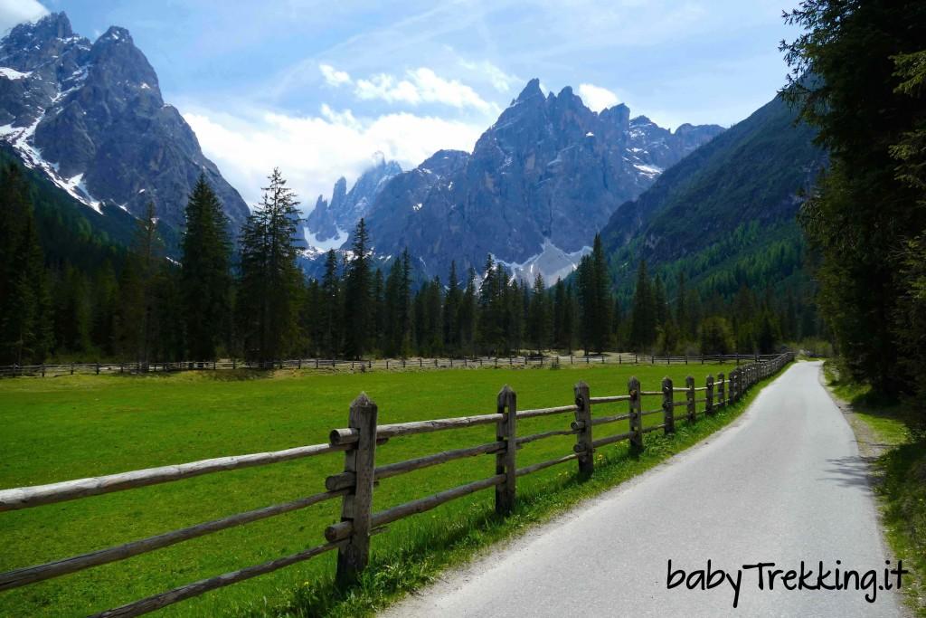 Rifugio Fondovalle coi bambini, in Val Fiscalina col passeggino