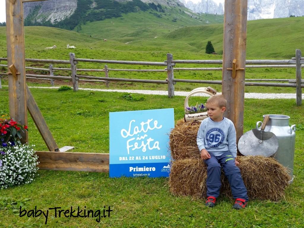 #latteinfesta, coi bambini a Malga Juribello per imparare i segreti del latte