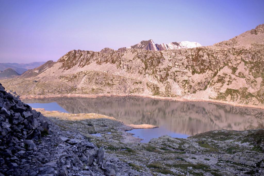 Lago della Vacca, in alta valle del Caffaro coi bambini