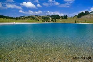 Lago Coe, Malga Melegna col passeggino