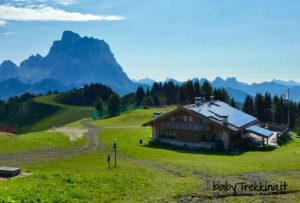 Rifugio Belvedere Cima Fertazza: coi bambini tra Zoldo e Val Fiorentina
