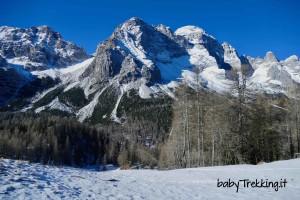 Rifugio Su'n Paradis, magia invernale per bambini in Val di Zoldo