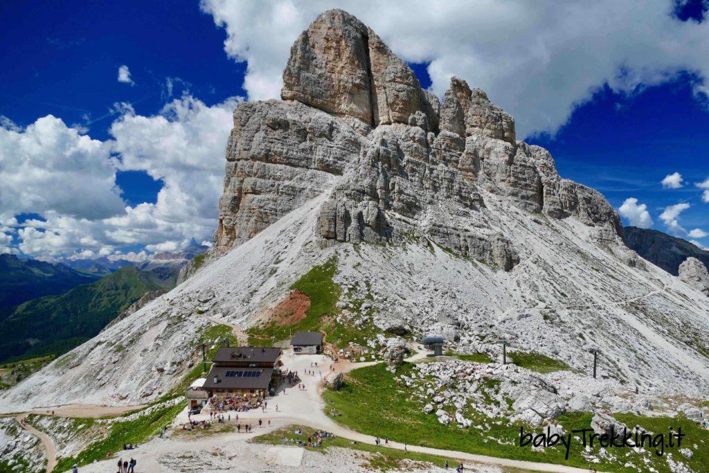 Al Rifugio Nuvolau coi bambini per ammirare le Dolomiti d'Ampezzo