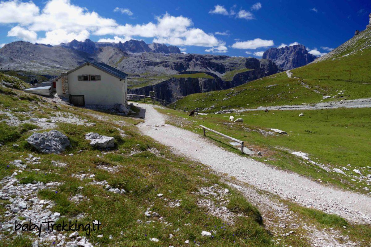Rifugio Puez da Colfosco, coi bambini tra i panorami dell'Alta Badia