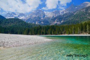 Lago di Tovel coi bambini: il gioiello della Val di Non nel Parco Naturale Adamello Brenta