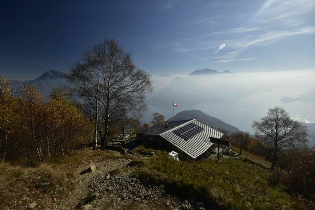 Rifugio Menaggio coi bambini: un balcone naturale sul lago di Como