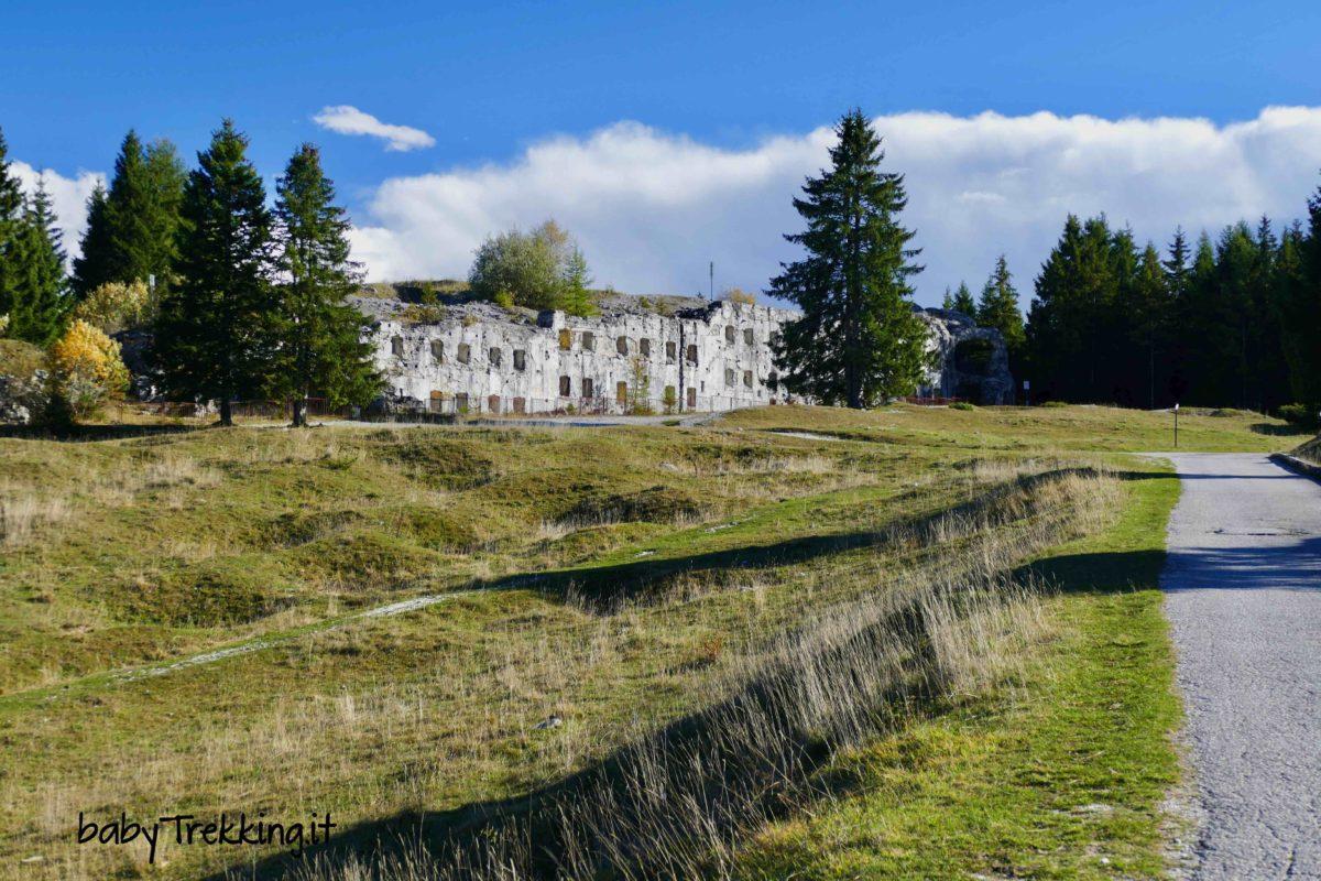Forte Verle e Malga Cima Verle: col passeggino sull'altopiano di Vezzena