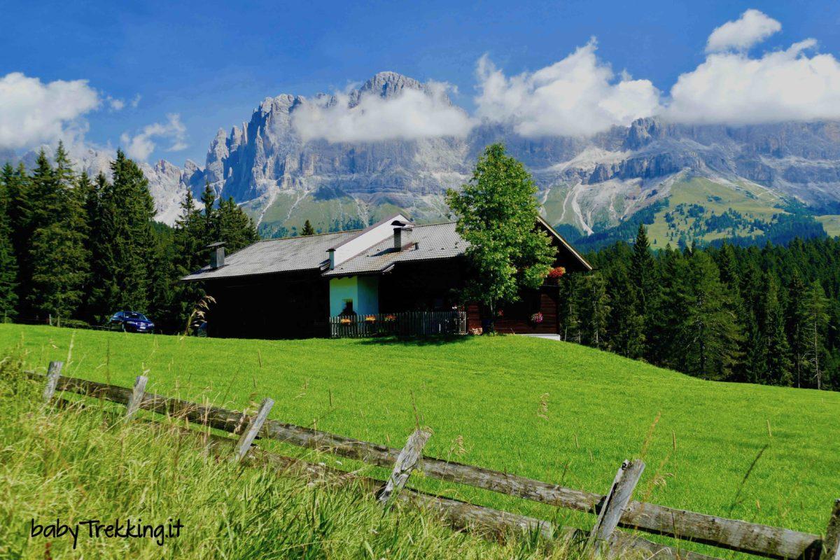 Schillerhof, col passeggino tra boschi e masi della Val d'Ega