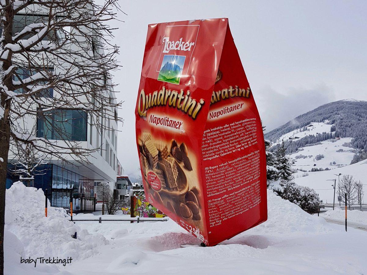 Bambini pasticceri a Heinfels, in Tirolo: Loacker che bontà!
