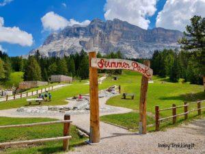 Summer Park La Crusc: meraviglia per bambini in Alta Badia