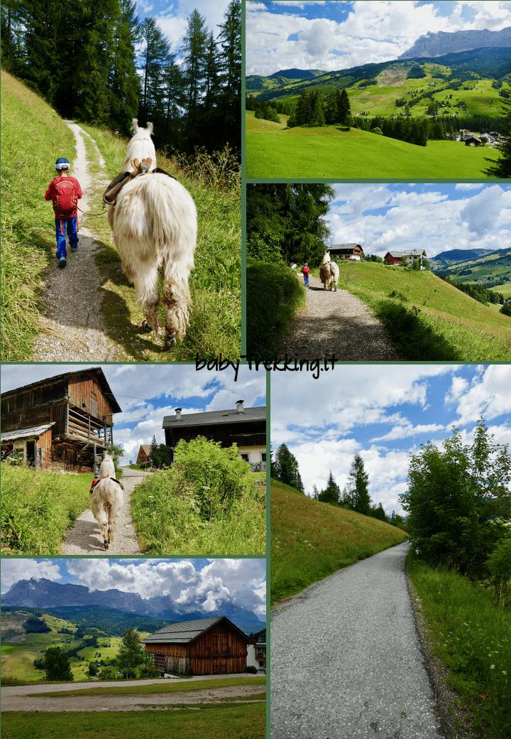 Da La Villa al Lech da Sompunt: Alta Badia in passeggino