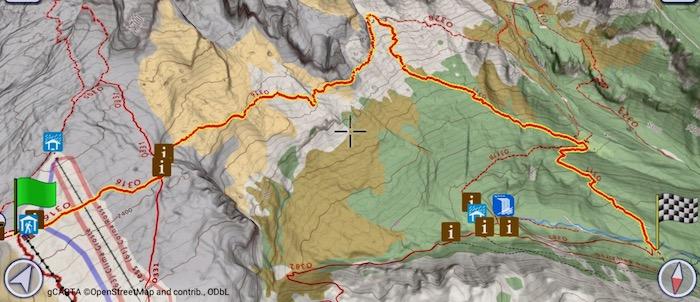 Itinerario per Rifugio Tuckett