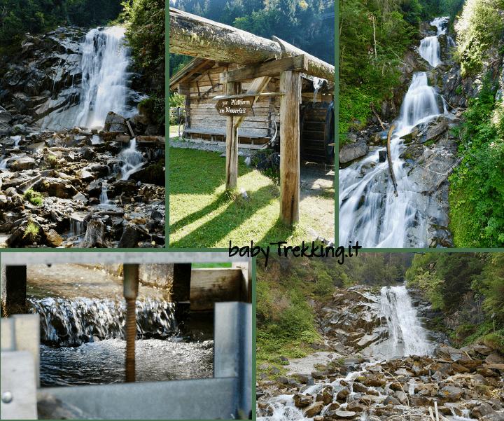 Muhlendorf Gscnitz e cascata Sandes: in Wipptal coi bambini
