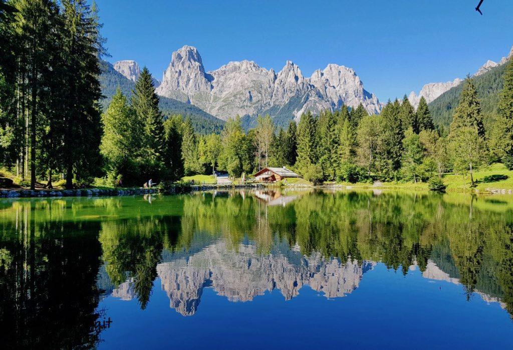 Il Sentiero delle Muse Fedaie e la meravigliosa Val Canali