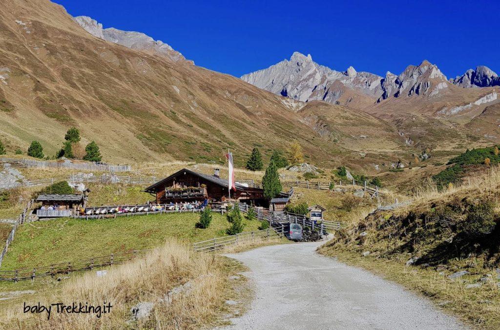 Da Riva di Tures a Knuttenalm: Valle Aurina a portata di passeggino