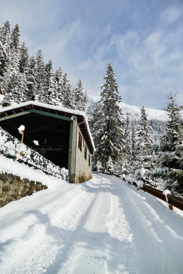 Stadlalm: con ciaspole e slittino in Val Ridanna