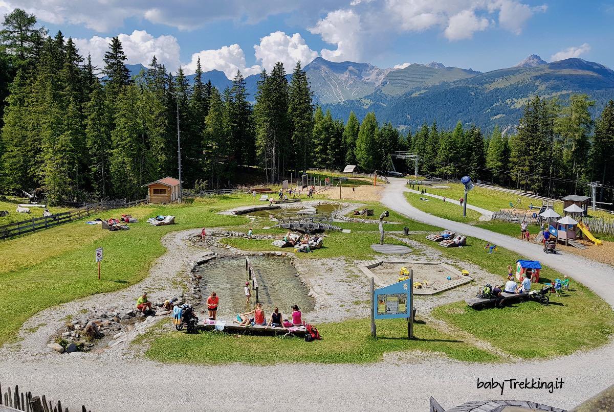 Bärenbachl, parco acquatico e percorso didattico in Tirolo