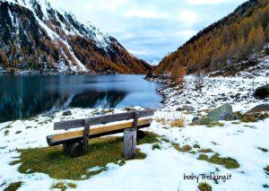 Giro del lago di Neves con bambini e cani: paesaggi incantati in Valle Aurina