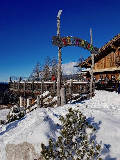 Monte Baranci in inverno