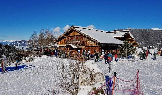Rifugio Gigante Baranci in inverno