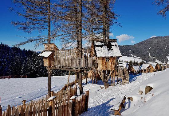 Il Villaggio degli Gnomi sul Monte Baranci