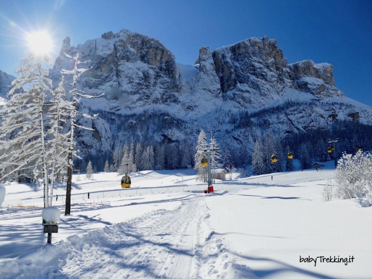 Cascate Del Pisciadu In Inverno Magia In Alta Badia Babytrekking