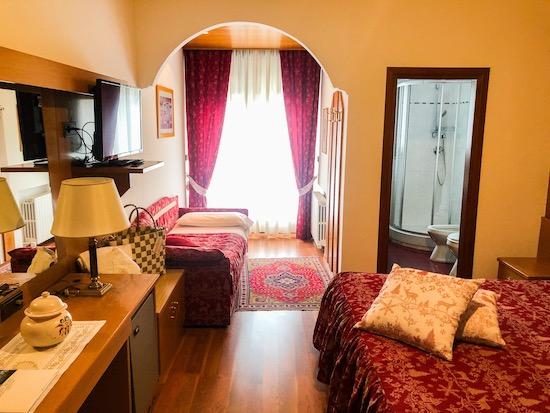 Camera del Brunet Hotel