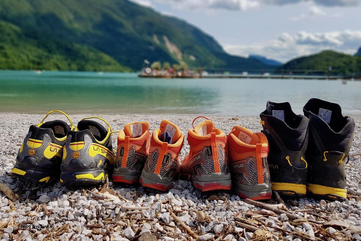 Scarpe da trekking e abbigliamento tecnico: quali scegliere