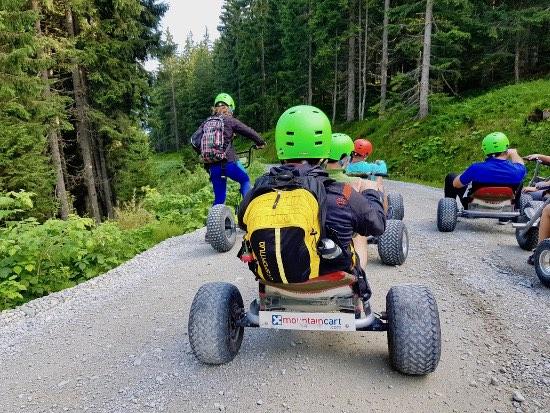 Mountain cart Fugen