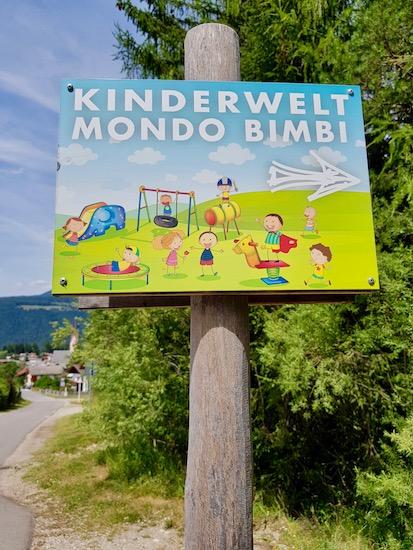 Mondo Bimbi Valdaora Kinderwelt