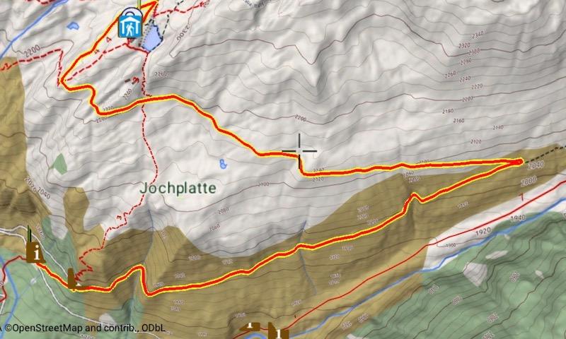 Il tracciato per il Passo di Vizze - Geoflyer Europe 3D Maps