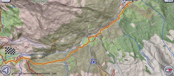 Mappa Lizumer Hütte