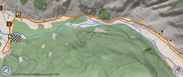 Itinerario Valsertal