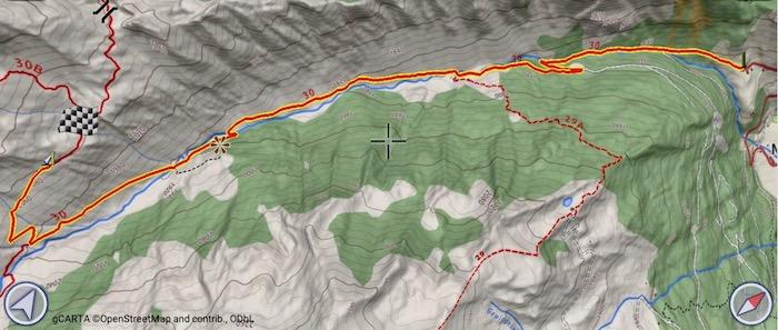 Itinerario per Staudenbergalm