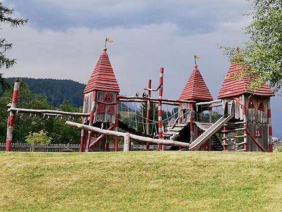 parco giochi Moena