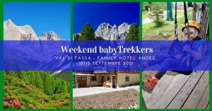 Weekend babyTrekkers