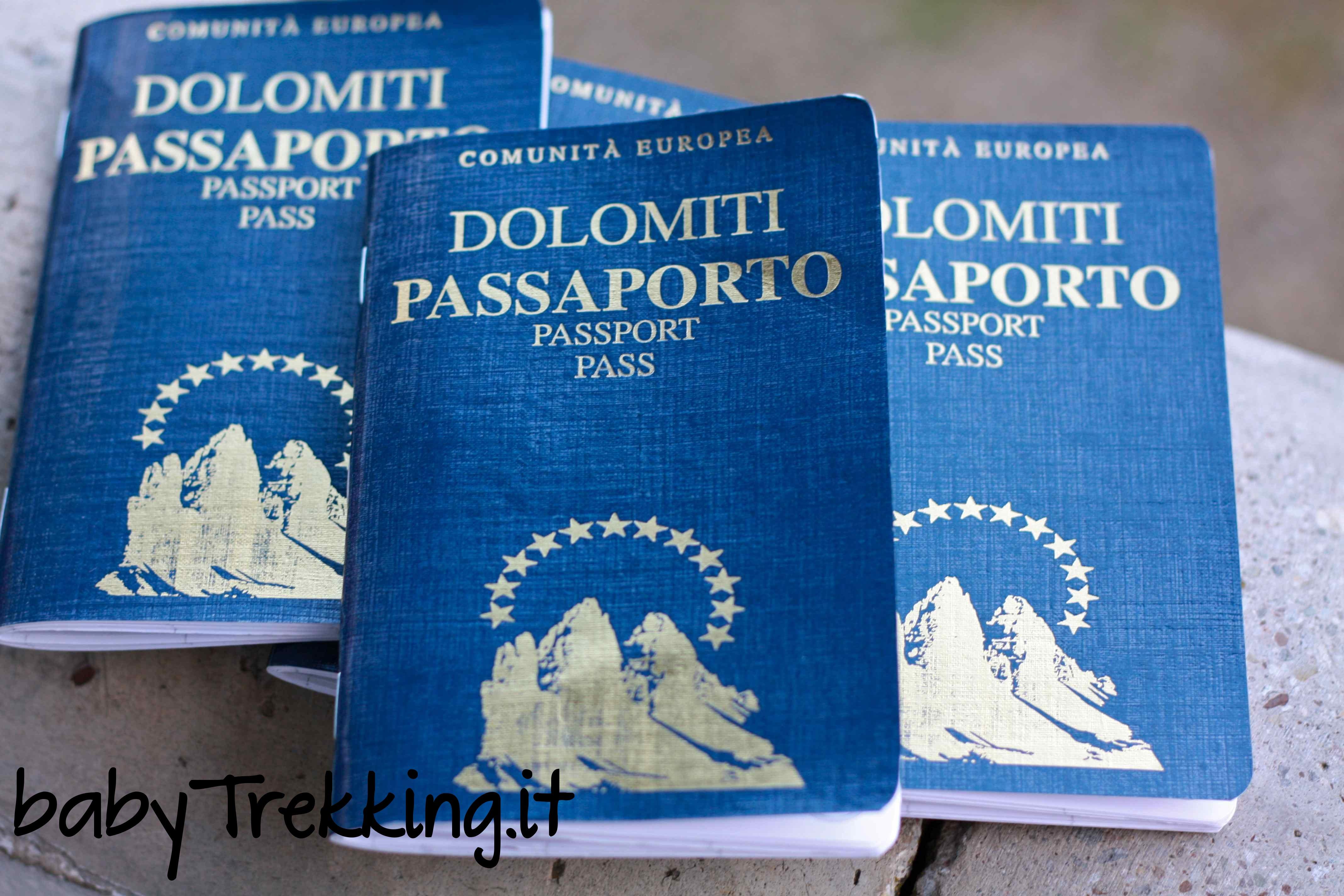 Passaporto delle Dolomiti: bellissima idea regalo per i bambini (e non solo!)