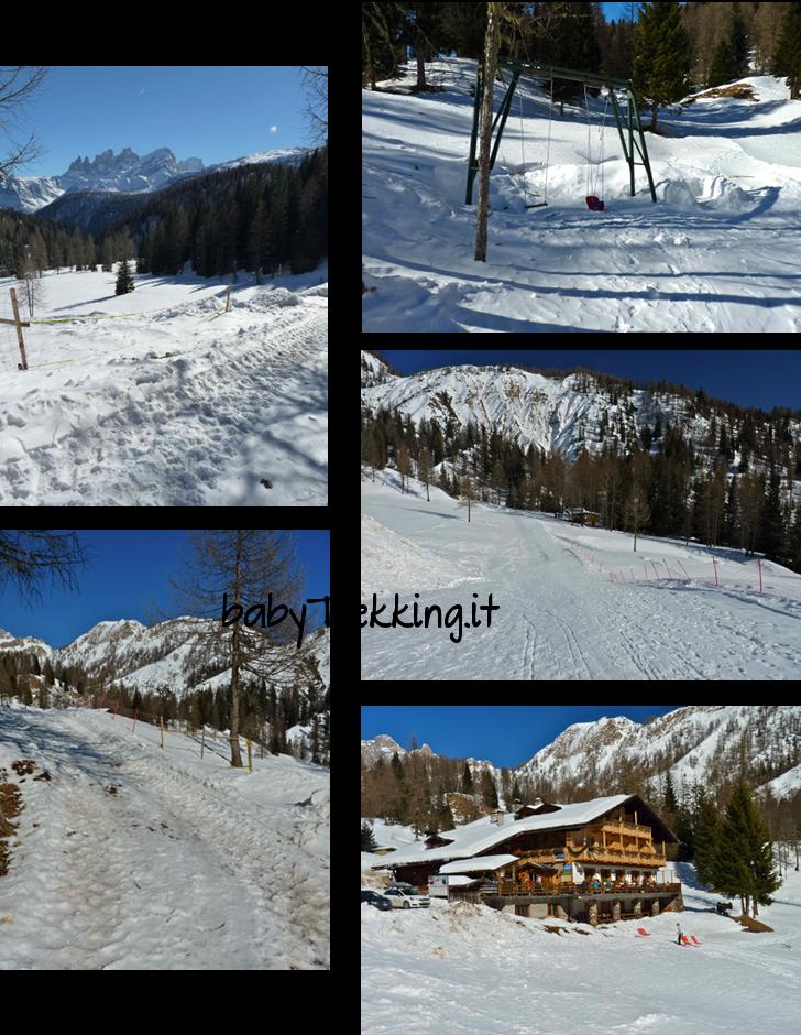 Vacanze sulla neve per grandi e piccini al Passo San Pellegrino