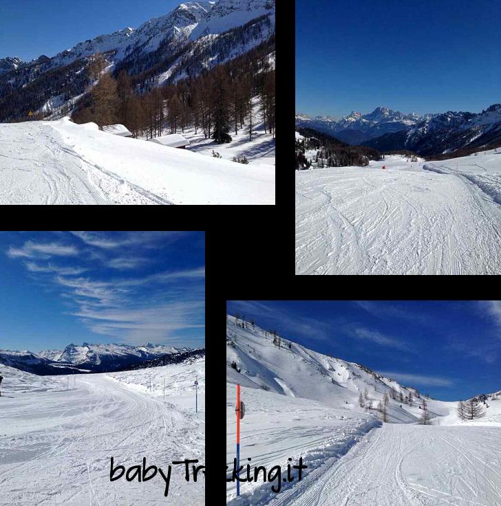 Ski Area San Pellegrino: dove i bamb