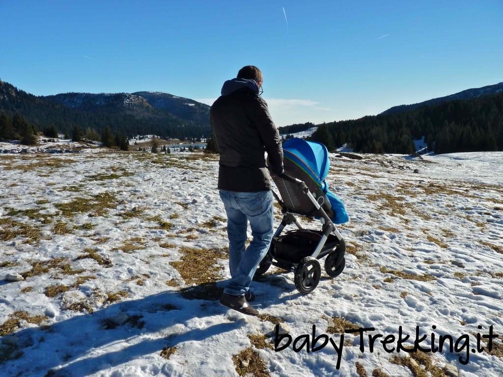 Passeggino Stokke Trailz, quando il trekking diventa fashion