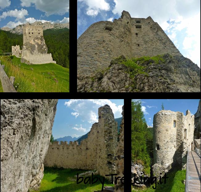 Castello di Andraz, un tuffo nella storia assieme ai bimbi